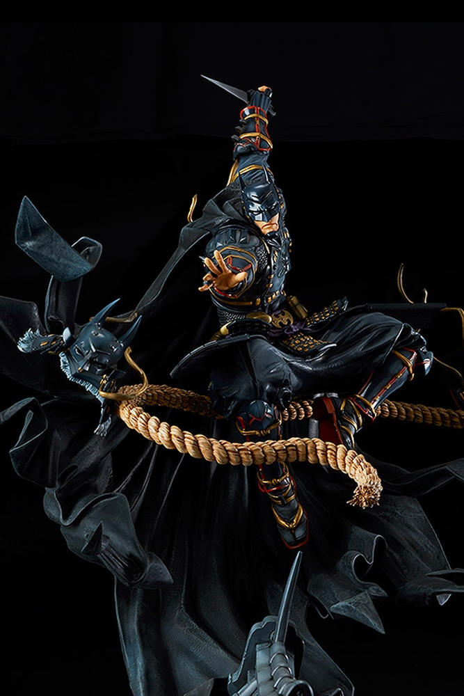 Limited Edition Batman Ninja Figure samurai Good Smile Company figurines 70 centimeters toy collector's item made-to-order 1000 statues 900 usd