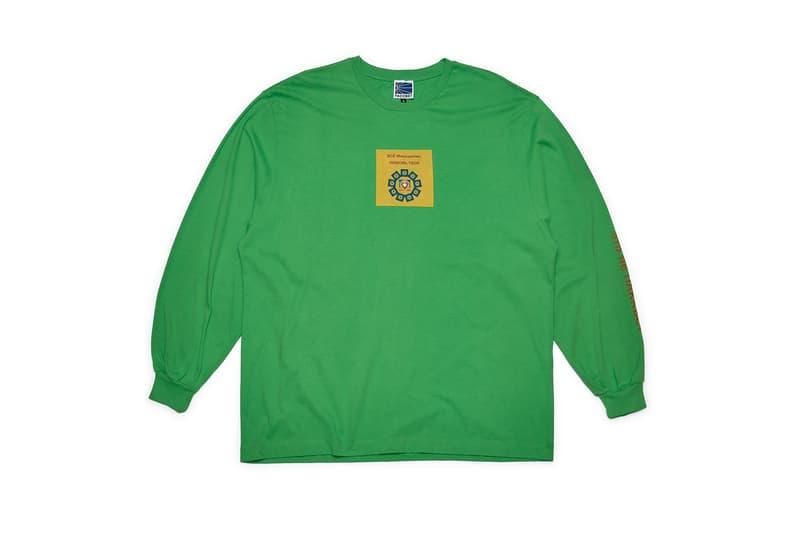 Gosha Rubchinskiy Rassvet Debut Collection Full Look PACCBET Crew Neck Sweater Long Sleeve Short T Shirt Deck Skateboard Socks Russian Cyrillic