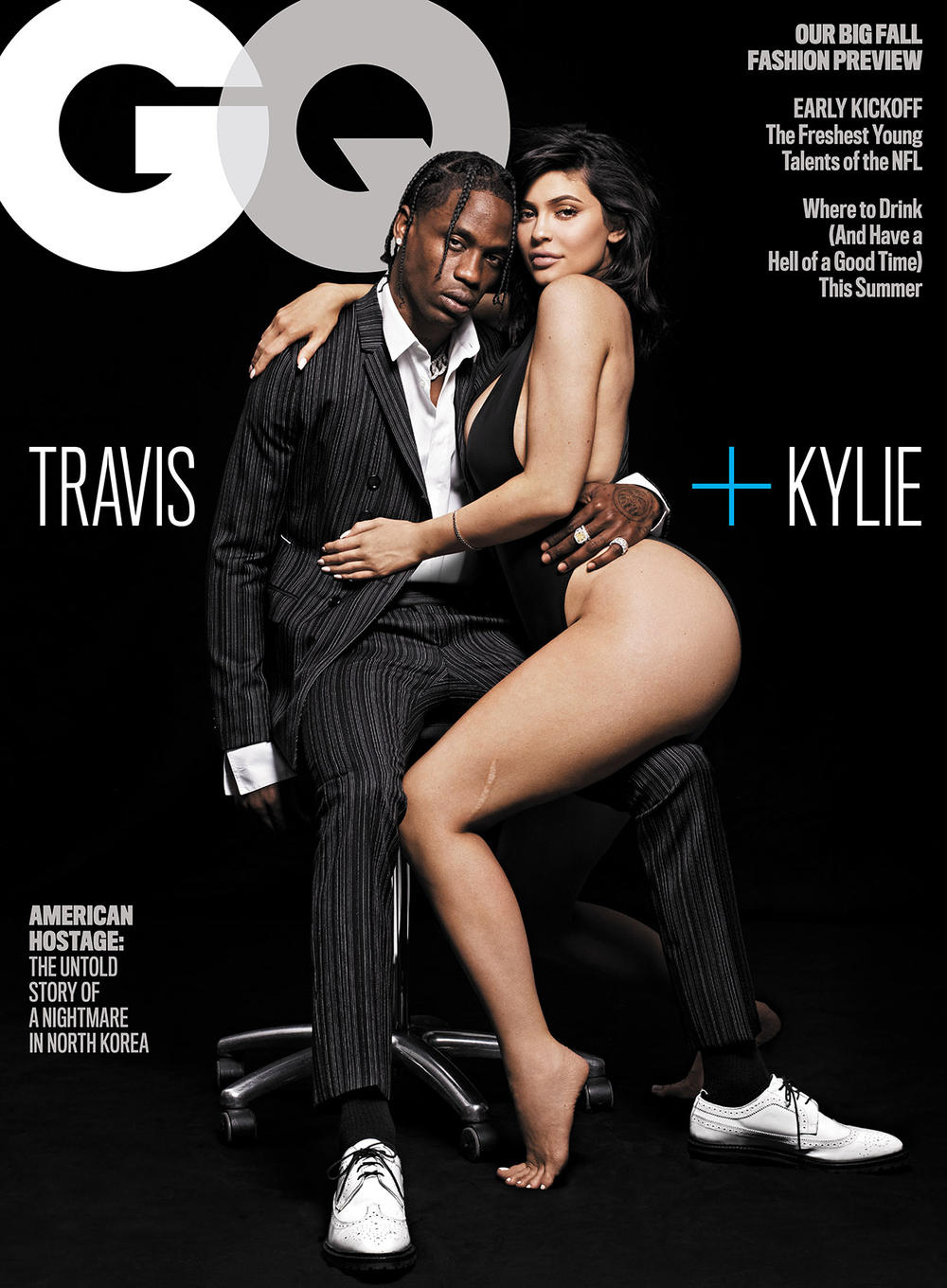 GQ Kylie Jenner Travis Scott 2018 August Issue Purchase Buy Cop Available Soon Music Fall Fashion Stormi Cover Story Kardashian