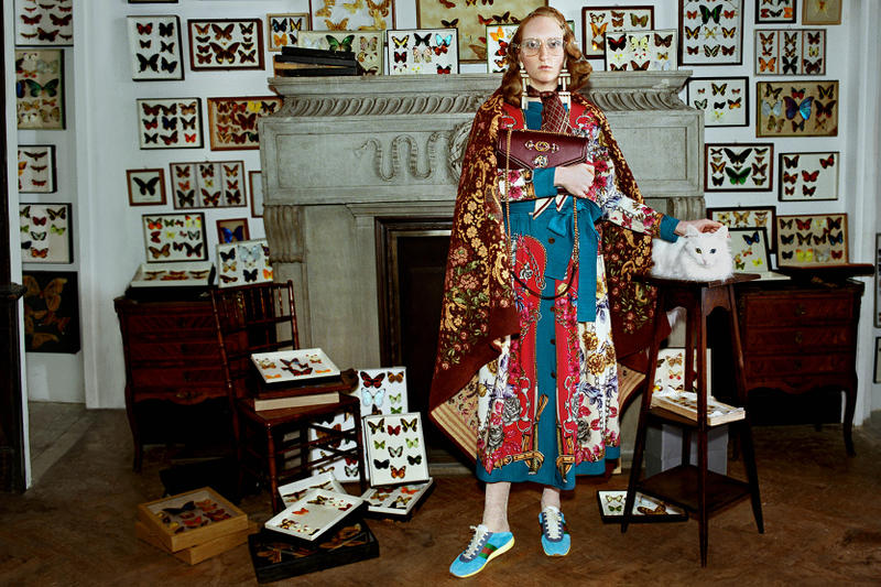 "Gucci Fall/Winter 2018 Campaign ""Gucci Collectors"" Collectors Art Artefacts Vintage Collectibles Glen Luchford"
