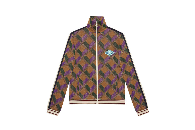 Gucci Pre-Fall 2018 Dover Street Market exclusives drop release collection july 14 2018 reopening buy purchase shop info decor sweater track jacket jersey shop store patches embroidery