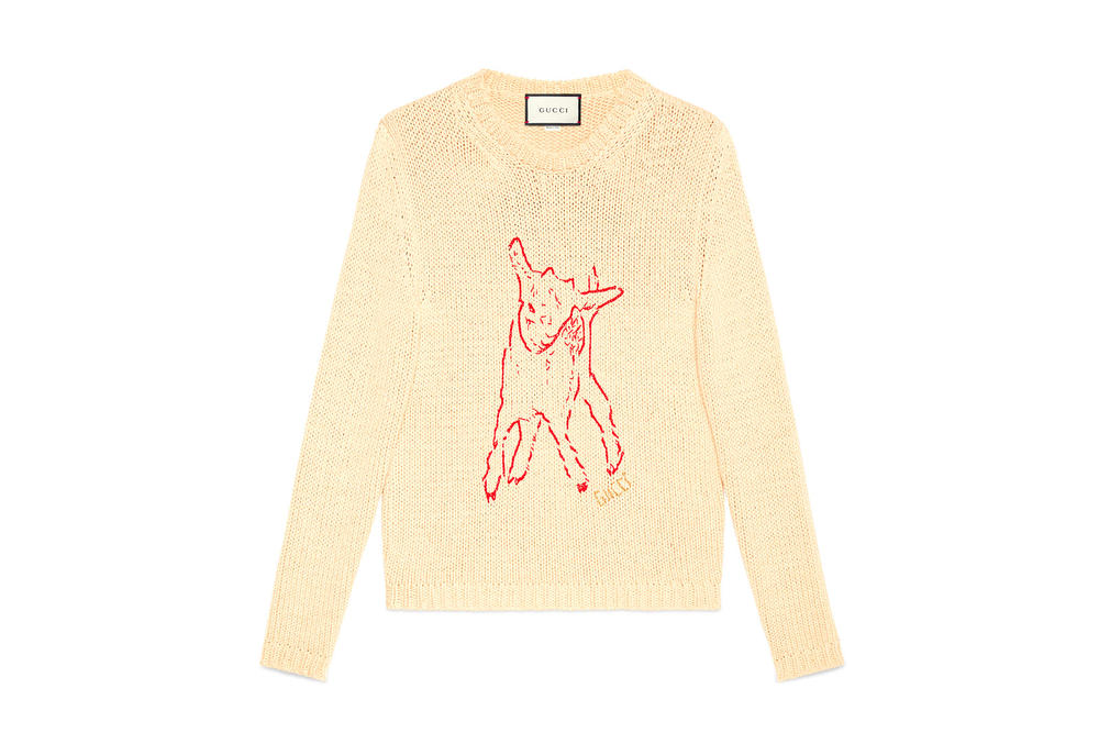 Gucci Spring/Summer 2018 Collection Release cartoon sweater bugs bunny tracksuits snow white graphic