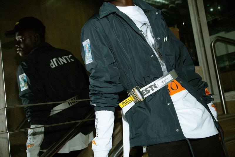 Heron Preston Fall/Winter 2018 Collection HBX Release Cop Purchase Buy Available Now