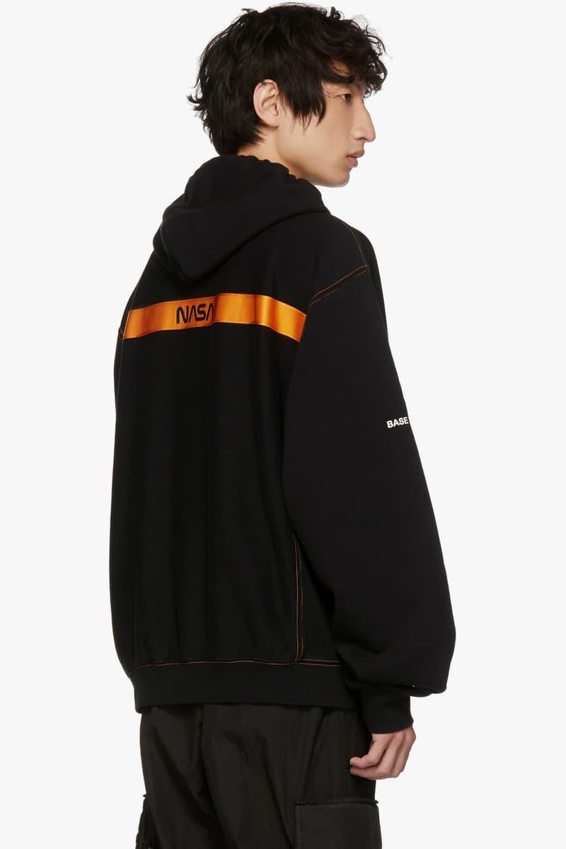 Heron Preston Fall Winter 2018 SSENSE exclusive hoodie lounge pants black release
