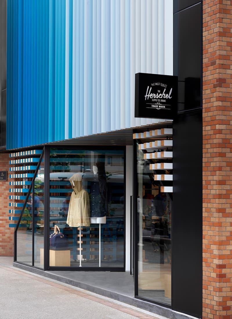 Herschel Supply Shibuya tokyo japan 2018 linehouse design architecture shop flagship