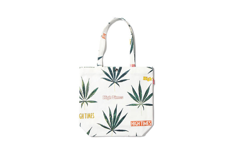 high times wacko maria graphic capsule collaboration collection magazine marijuana pot weed hawaiian shirt tee shorts bag tote bandana july 7 6 2018 the guilty parties paradise tokyo drop release date launch info cop