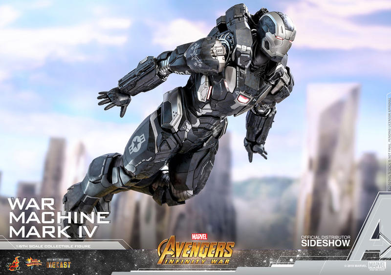 Hot Toys Avengers Infinity War War Machine Mark IV Figure Special Edition 1/6th scale collectible Marvel Studios