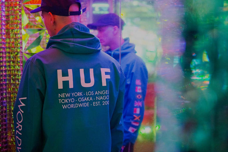 HUF Japanese Counterculture Fall 2018 Lookbook