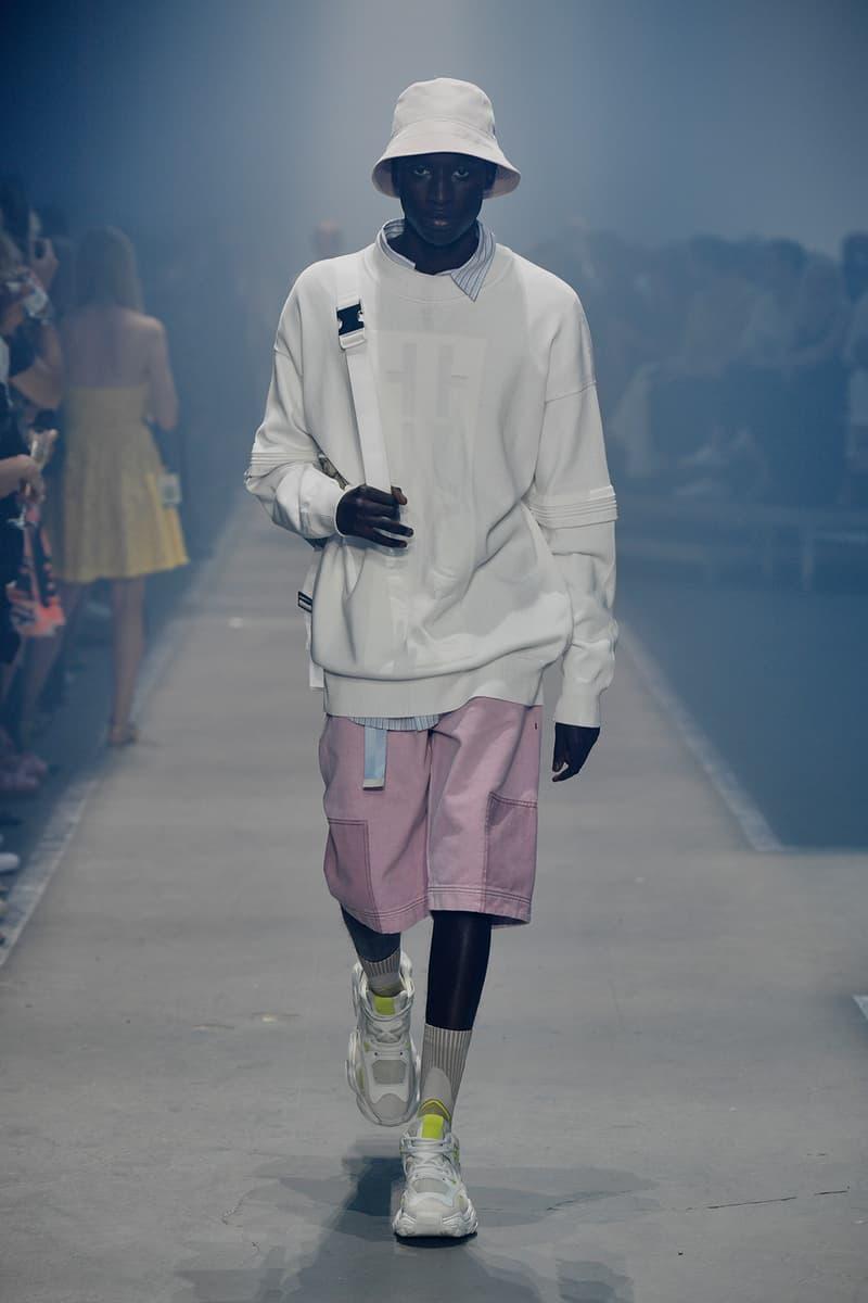 HUGO boss spring summer 2019 runway collection berlin fashion week july 6 2018 wiz khalifa