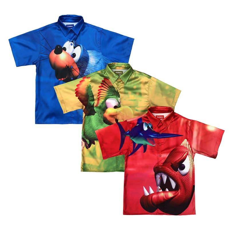 imran potato donkey kong country animal buddies button up shirts green blue red