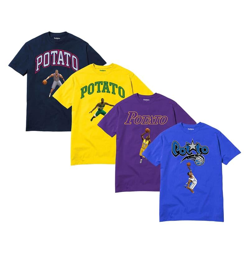 imran potato nba tee shirt parody blue purple yellow black nba 2k video game
