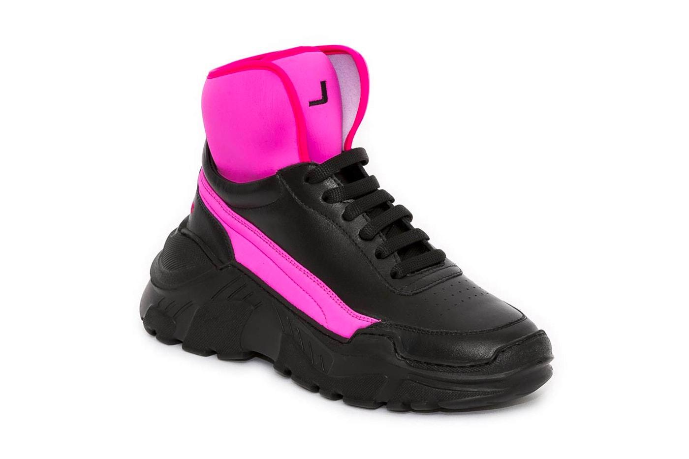 Joshua Sanders ZENITH NEOPRENE Sneaker Lookbook collection footwear price purchase