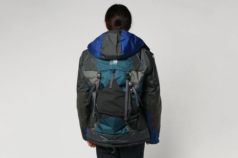 junya watanabe eye comme des garcons man the north face trail pack karrimor backpack customized grey white blue red fall winter 2018 drop release date info buy purchase shop sale