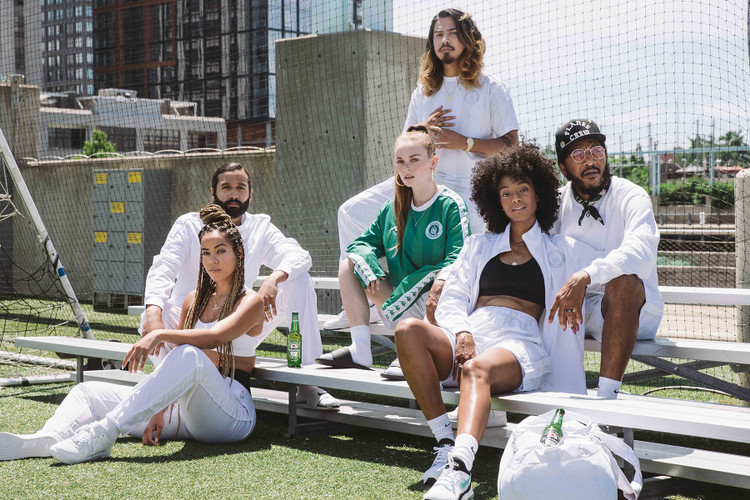 cfa824d0a84 Kappa   Heineken Link up on an Exclusive Soccer-Themed Collection