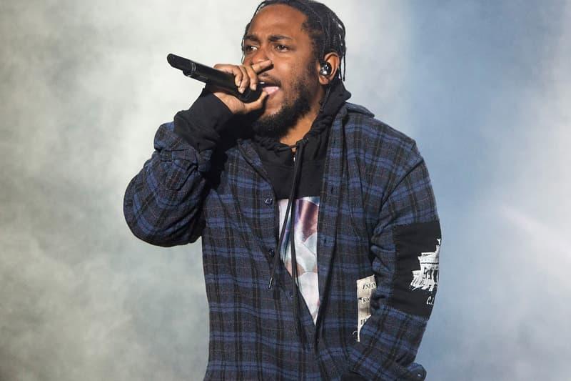 Kendrick Lamar DAMN. 2017 Most Popular Album Nielsen Music Mid Year