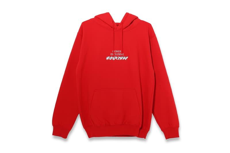 KONUS Rosetrap collection t-shirts hoodies devin kang merch apparel BOYKONAN DIDI HAN Deepshower BRLLNT Plan8 Oddtom