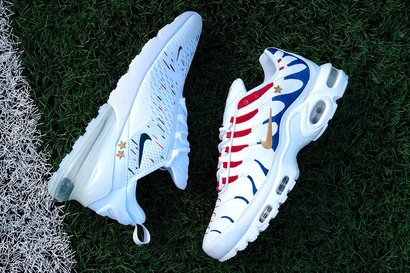 new concept 1bae9 8de35 Kylian Mbappé Nike Air Max 1998 2018 Pack World Cup France Air Max Plus Air  Max