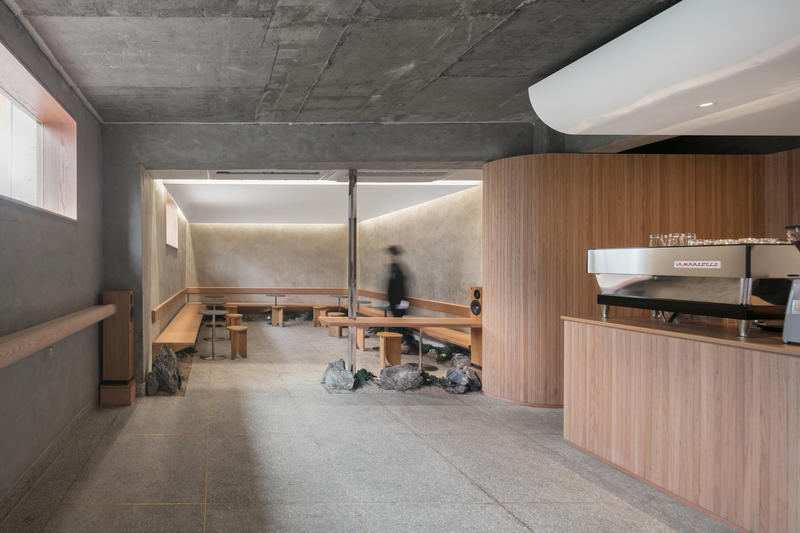 LABOTORY Coffee Shop Cafe Oriente Seoul Korea architcture design