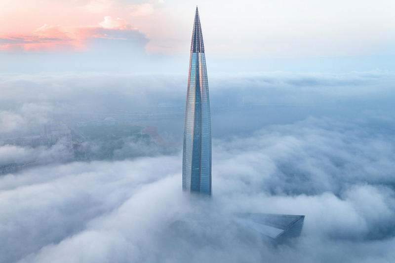 lakhta centre tallest skyscraper europe st petersburg russia architecture design rmjm