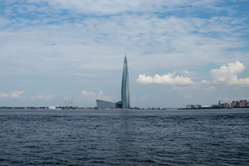 lakhta centre tallest skyscraper europe st petersburg russia architecture design rmjm