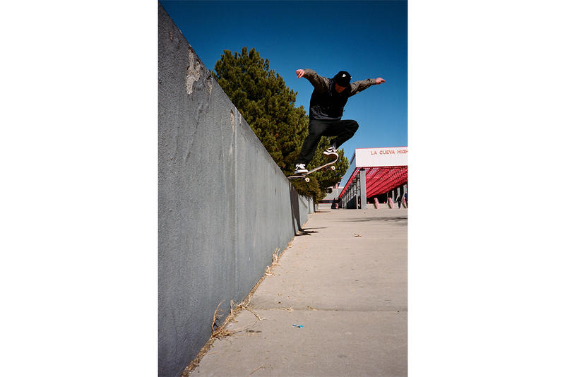 Lance Mountain Nike SB Southwest Skate Video Lance Mountain Hjalte Halberg Cyrus Bennett Oskar Rozenberg Hugo Boserup Max Palmer Ville Wester Texas New Mexico Arizona skateboarding