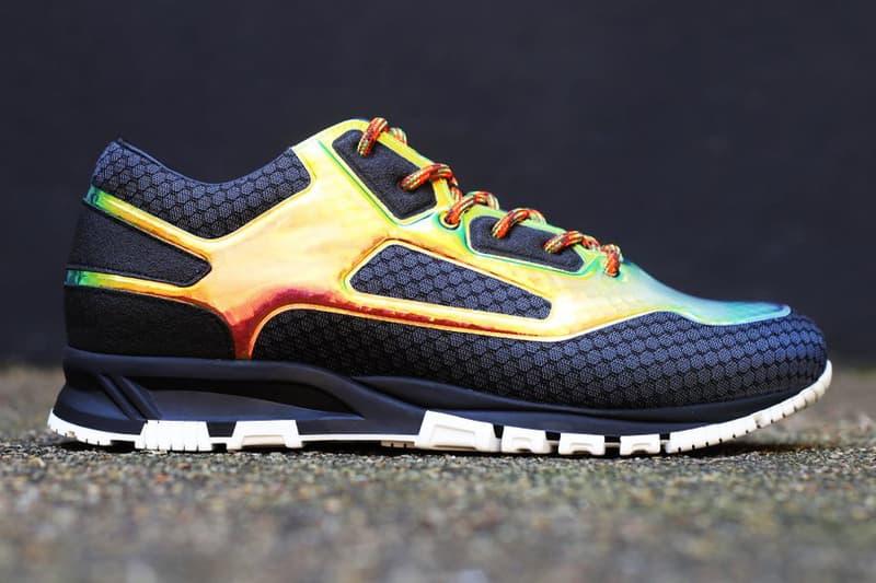 Lanvin 2018 footwear anrosa lanvin multicolor iridescent sneaker