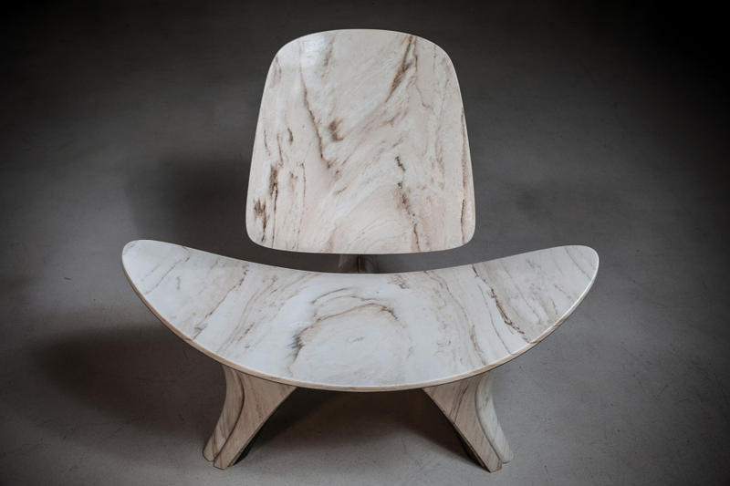 zaha hadid architects hans j wegner lounge chair