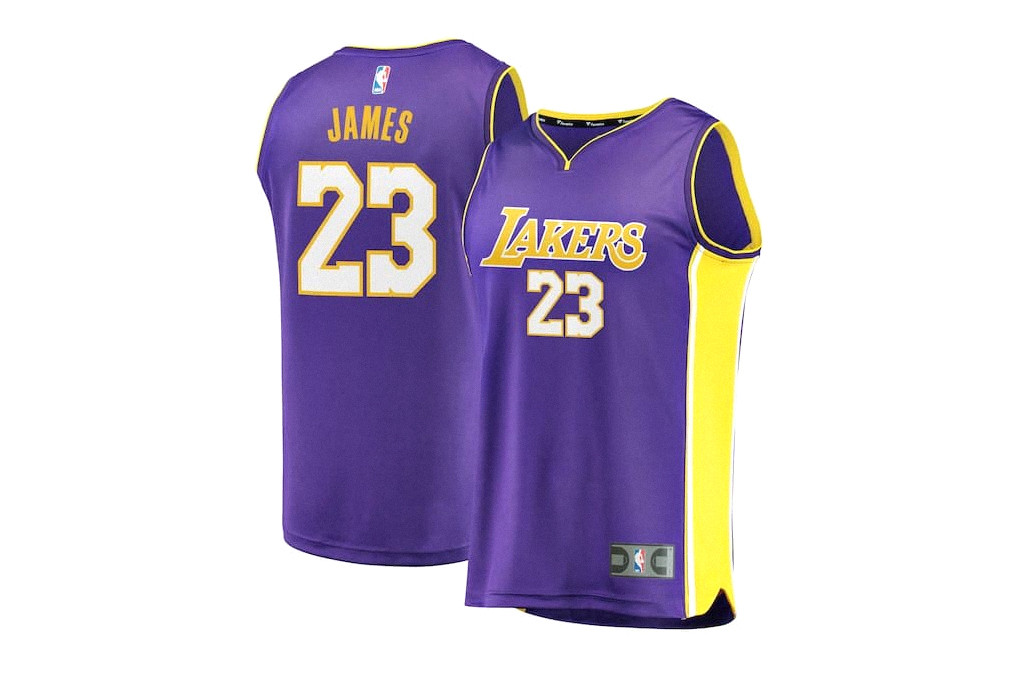 the best attitude 4d81b 81134 LeBron James' No. 23 Lakers Jersey Is Selling out | HYPEBEAST