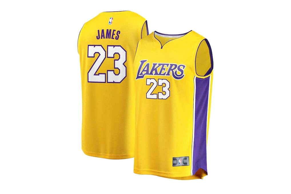 the best attitude 24dba 367a7 LeBron James' No. 23 Lakers Jersey Is Selling out | HYPEBEAST