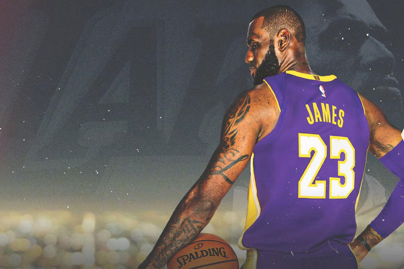 LeBron James Officially Signs With the Lakers  cad03013c