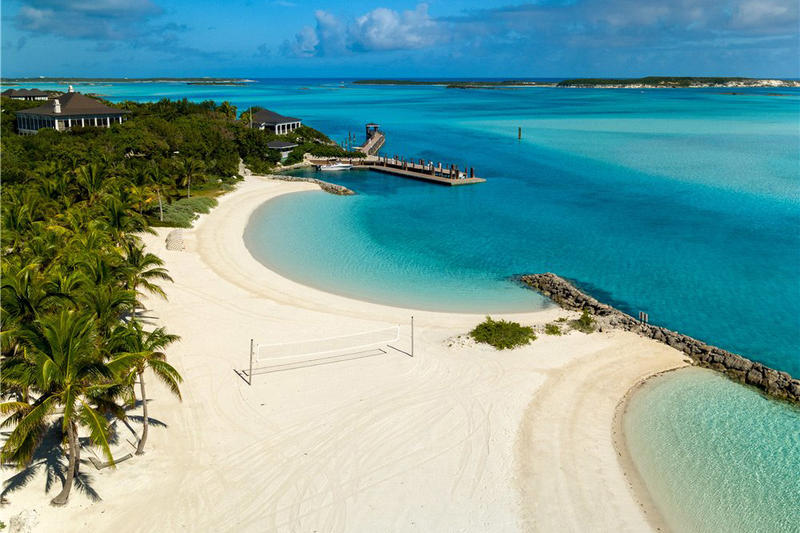 Little Pipe Cay Houses Islands Private Beaches Resort For Sale For Rental Exuma Bahamas Caribbean Pirates of the Caribbean James Bond