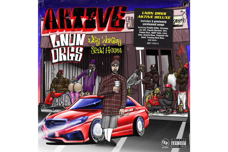 LNDN DRGS Feel Alright New Song AKTIVE Deluxe Jay Worthy Sean House