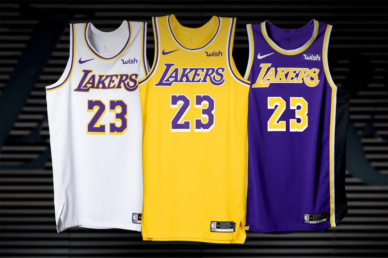 los angeles lakers nike jerseys nike basketball sports 2018 2019