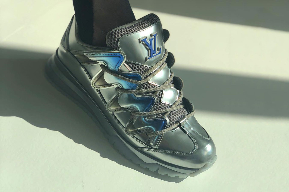 b52423aecbaa Louis Vuitton Teases Clunky Skate-Inspired Sneakers