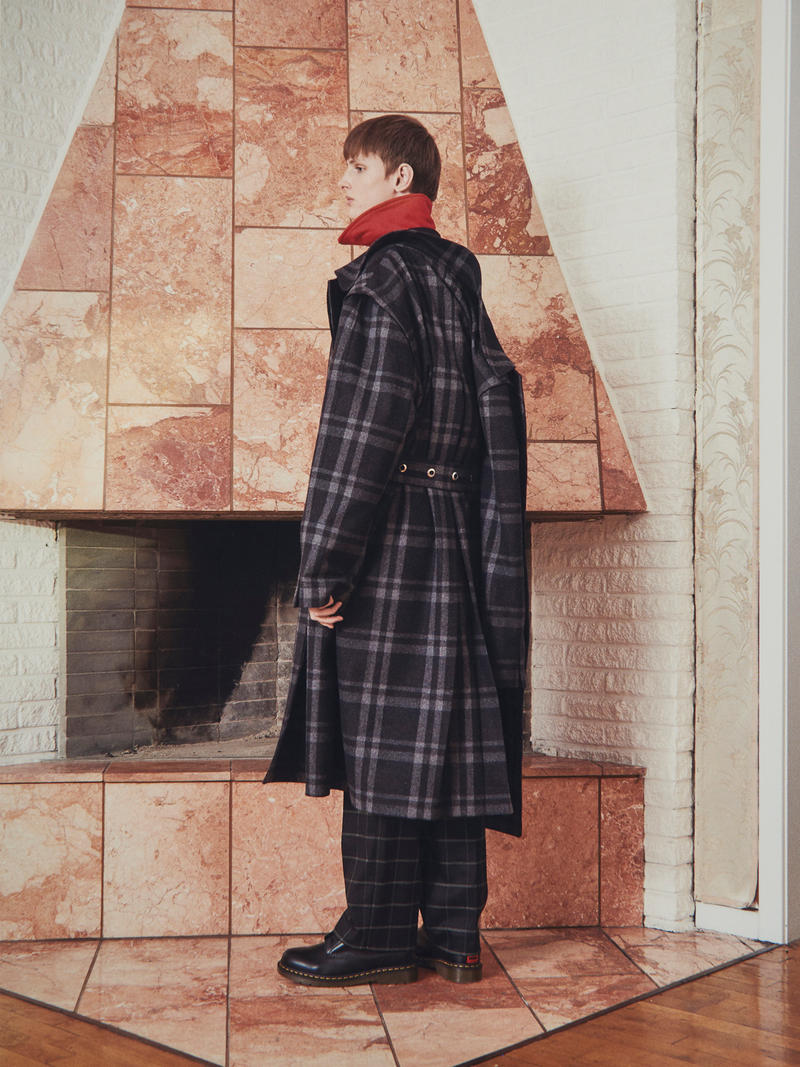 Martin Asbjørn Fall/Winter 2018 Collection lookbook teenage dirtbag fashion menswear streetwear danish copenhagen