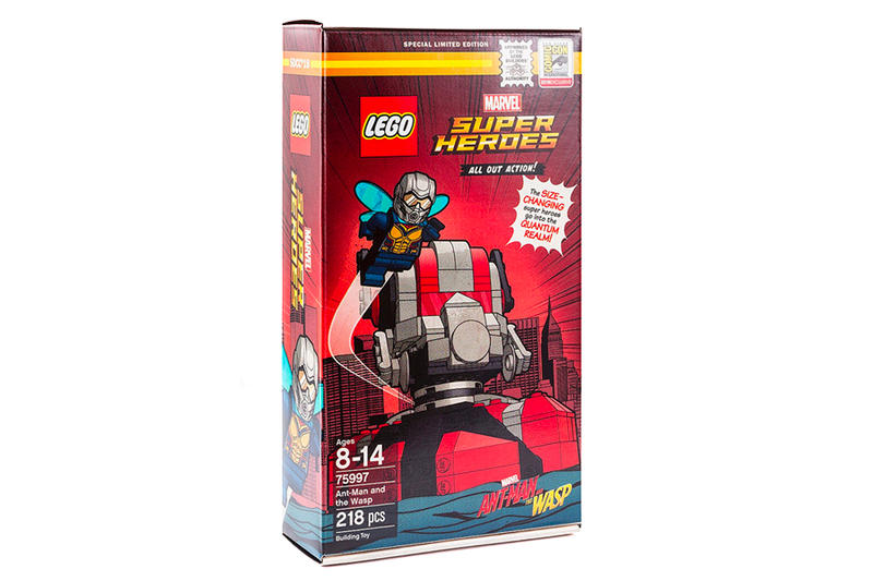 LEGO Ant-Man and the Wasp exclusive SDCC Set