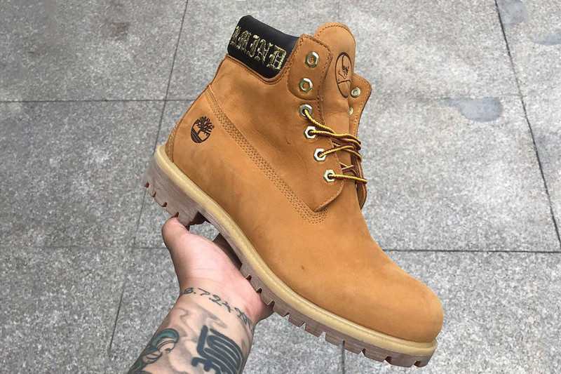 ae7a6507bb162 A mastermind JAPAN x Timberland 6″ Boot Collaboration Has Appeared ...