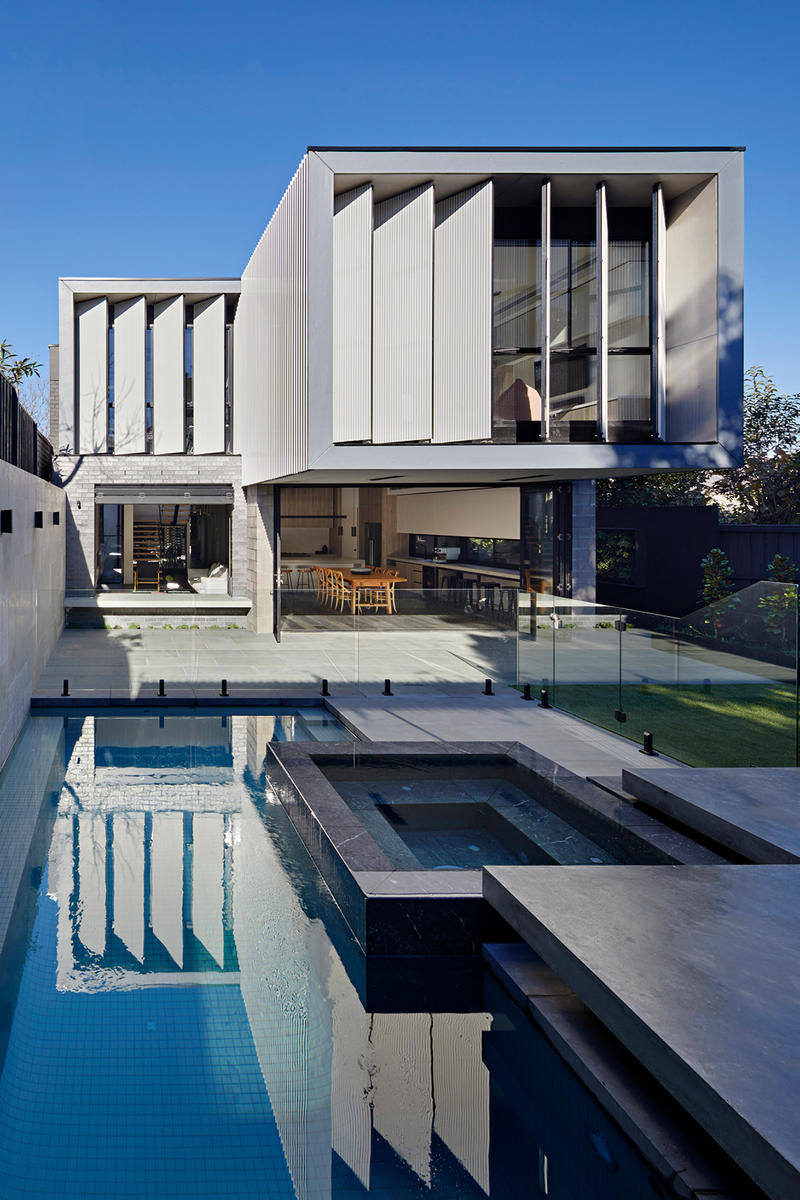 Molesworth St House Chan Architecture Modern Homes Houses Interior Exterior Swimming Pool Garden