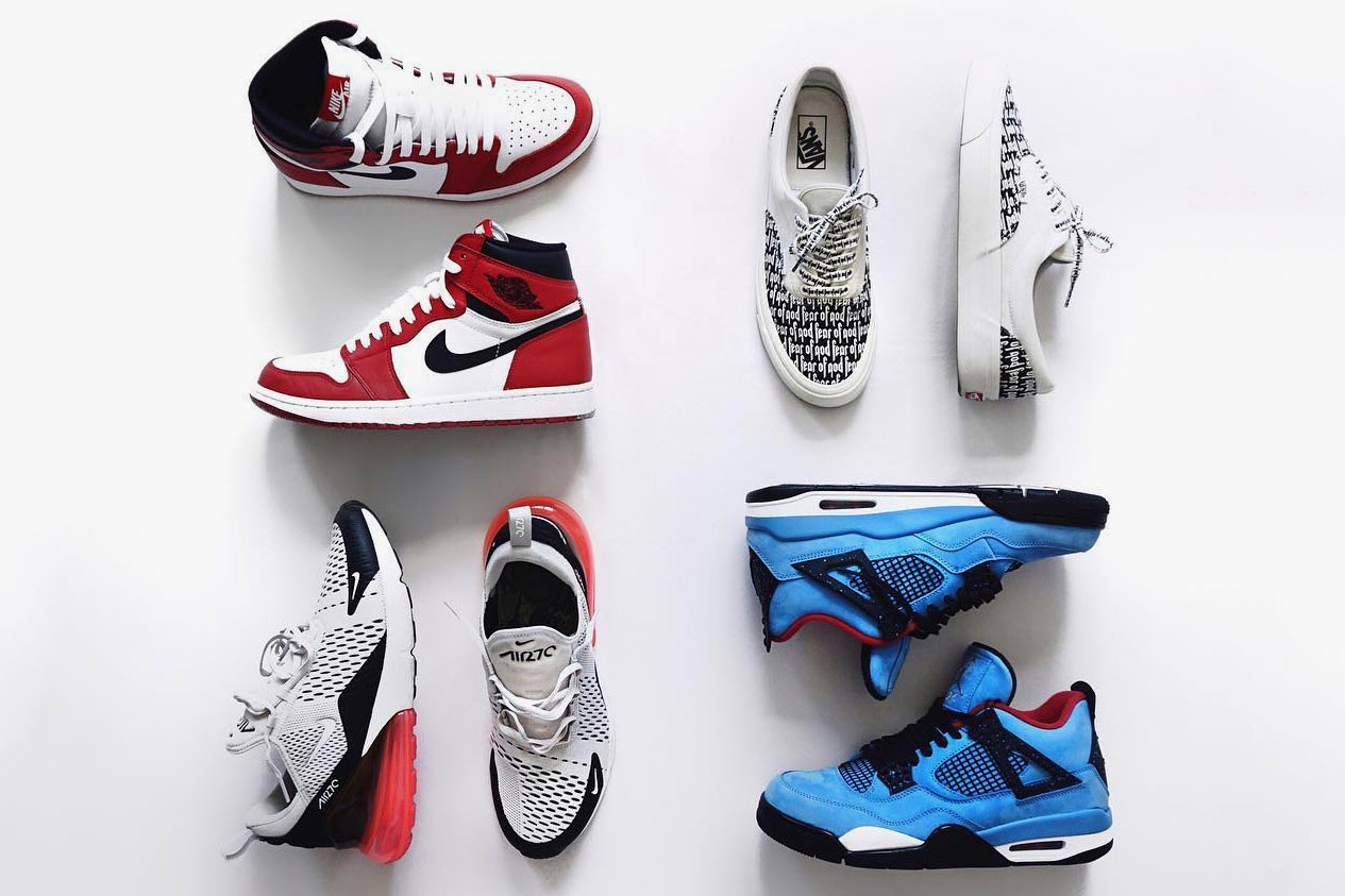 World's Most Instagrammed Sneakers