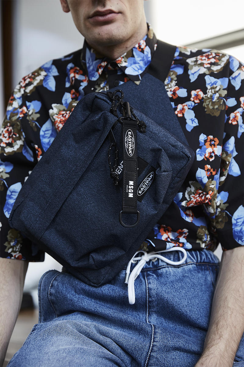 Msgm Eastpak Mobility Times Two Bag Range Padded Pakr XL backpack Tote weekender Bundel waist Orbit compact daypack Kiolder keychain Capsule Massimo Giorgetti