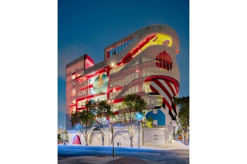 Museum Garage Miami Design District parking garage architecture J Mayer H WORKac Clavel Arquitectos Keenen/Riley Nicolas Buffe