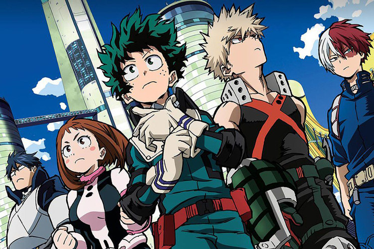 5e4b78e81da02  My Hero Academia  Two Heroes  English Trailer Announces U.S. Theatrical  Debut