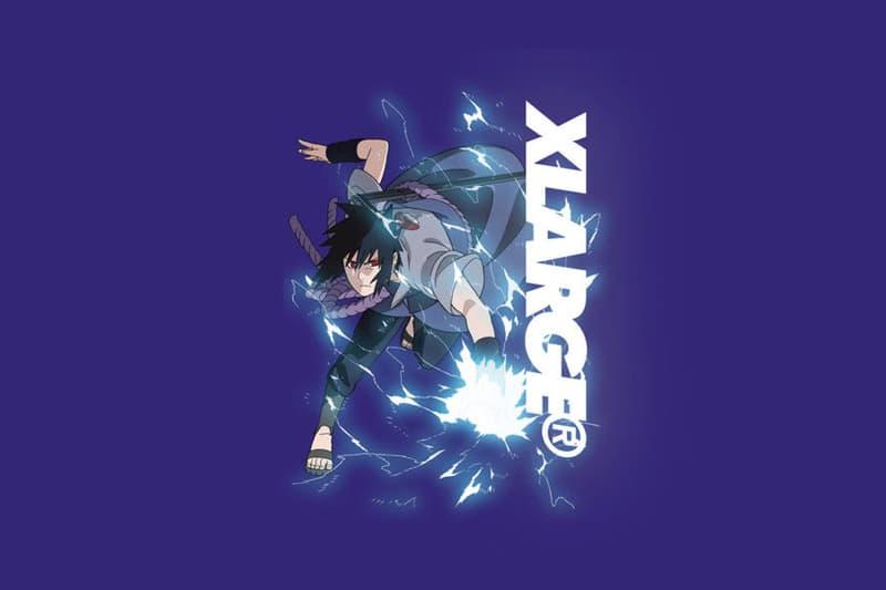 Xlarge Naruto T shirt Capsule Collection Boruto Sasuke Shippuden Ninja