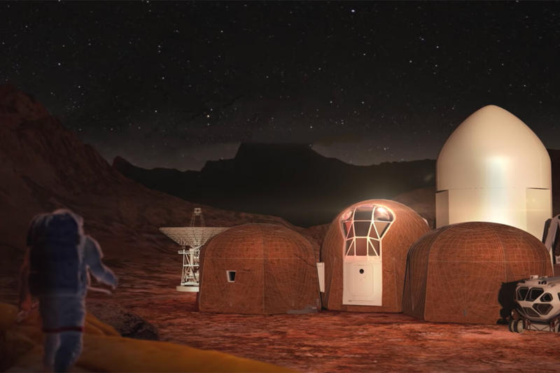 NASA 3D-Printed Mars Habitat Competition Winners Space Planets Design Arts