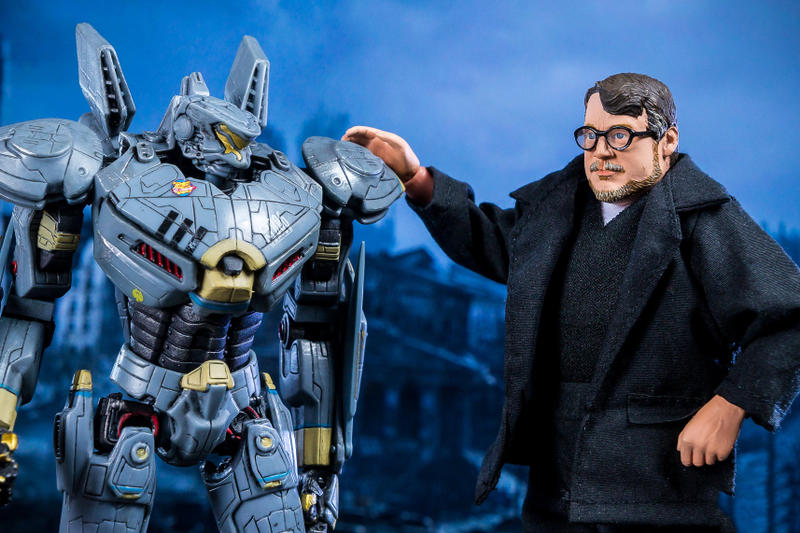 NECA Guillermo del Toro San Diego Comic Con Figure SDCC Toyark Movies Films Toys Figures Pan's Labyrinth  Hellboy The Shape of Water Trollhunters The Strain Pacific Rim movies director