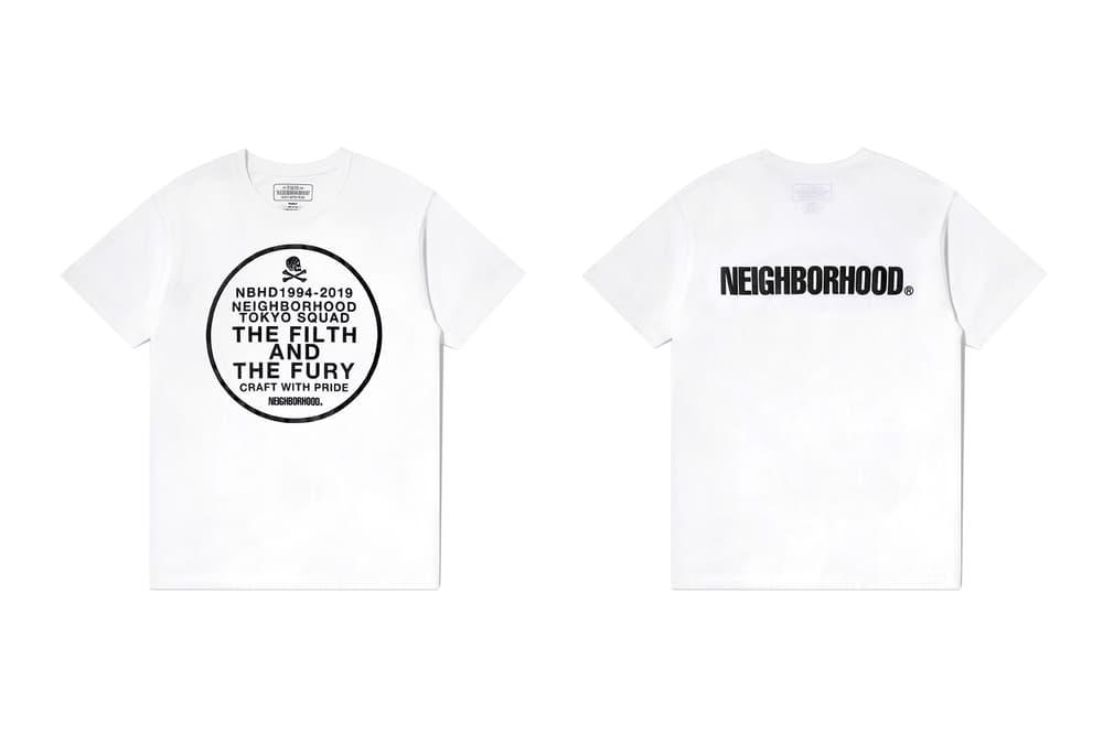 neighborhood hong kong beijing capsule collection white t shirt