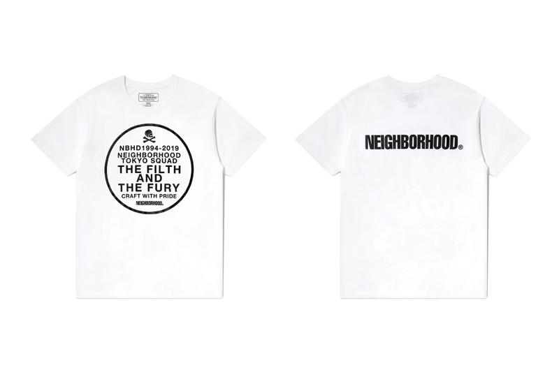 neighborhood hong kong beijing capsule collection white t shirt