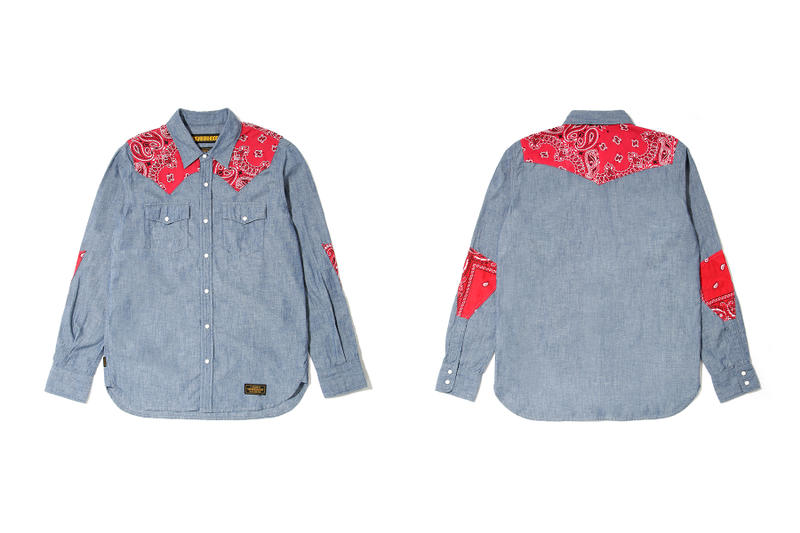 neighborhood hong kong beijing capsule collection denim shirt