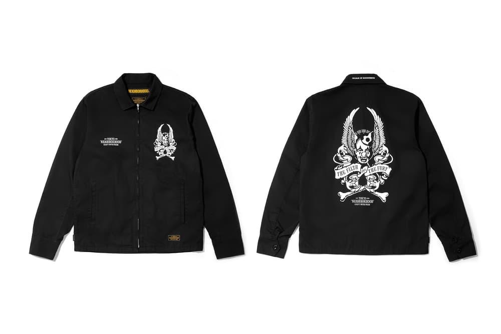 neighborhood hong kong beijing capsule collection black jacket