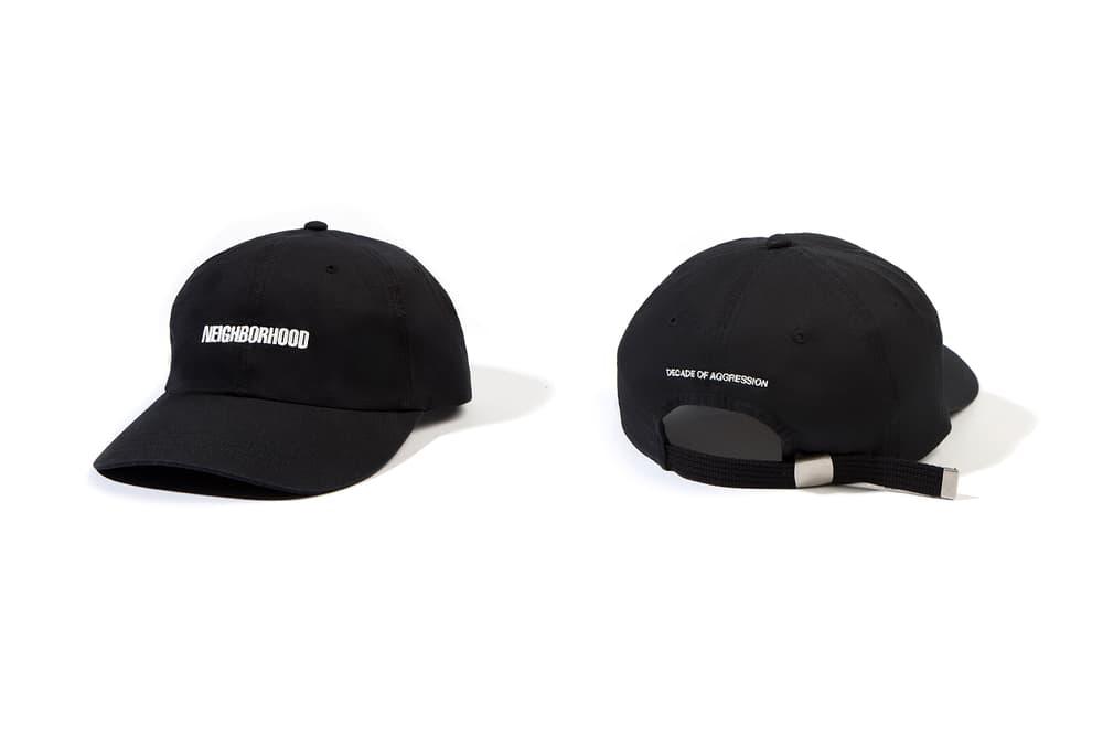 neighborhood hong kong beijing capsule collection black hat
